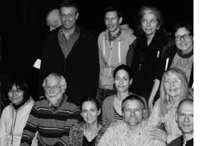 Gruppenbild vom letzten Zuschauerkino (11. Dezember 2014)